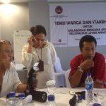 Pemerhati anak, Makmur Payabo yang juga direktur Yapta U. Dalam penjelasan Kota Layak Anak. [Foto: Mad]